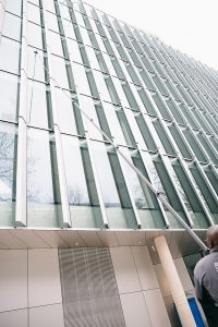 commercial window cleaner London,