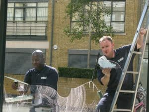 abseil window cleaner