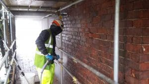 wall cleaning london