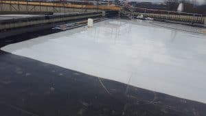 EPDM roof membrane cleaning london