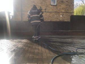 driveway cleaning jet washing london