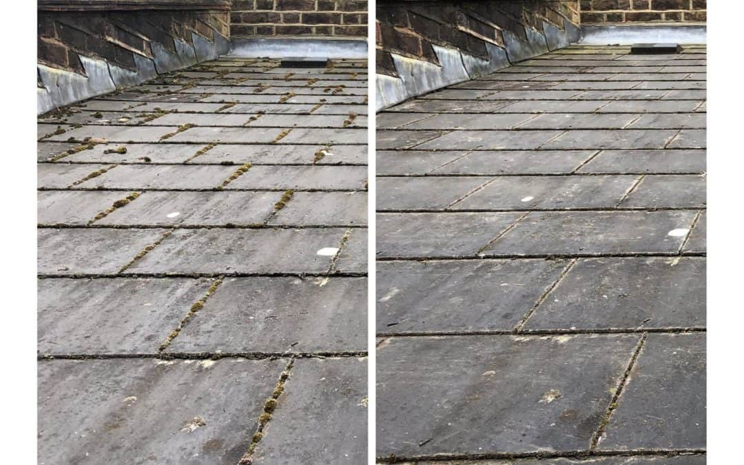 Roof Moss Removal & Gutter Clearing in Peckham, SE15