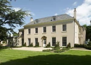 Manor House building cleaning
