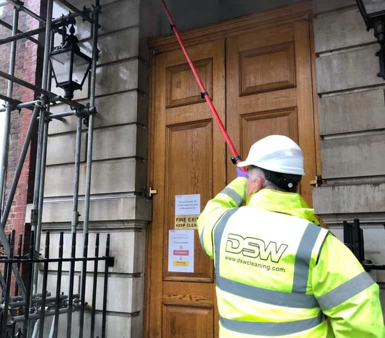 Listed Building Exterior Cleaning London