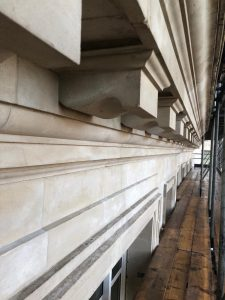 Listed building stone cleaning