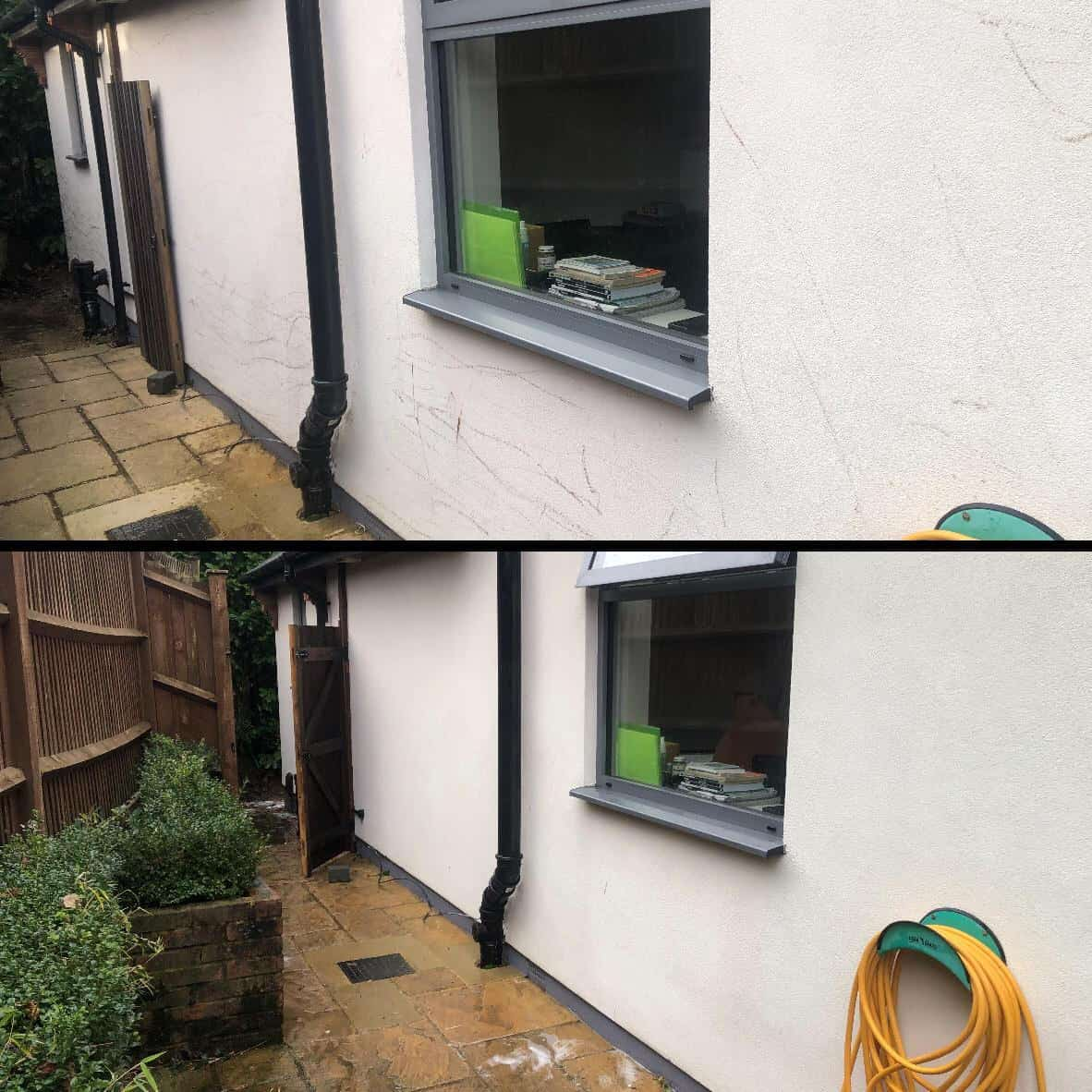 softwash render cleaning Surrey Kent