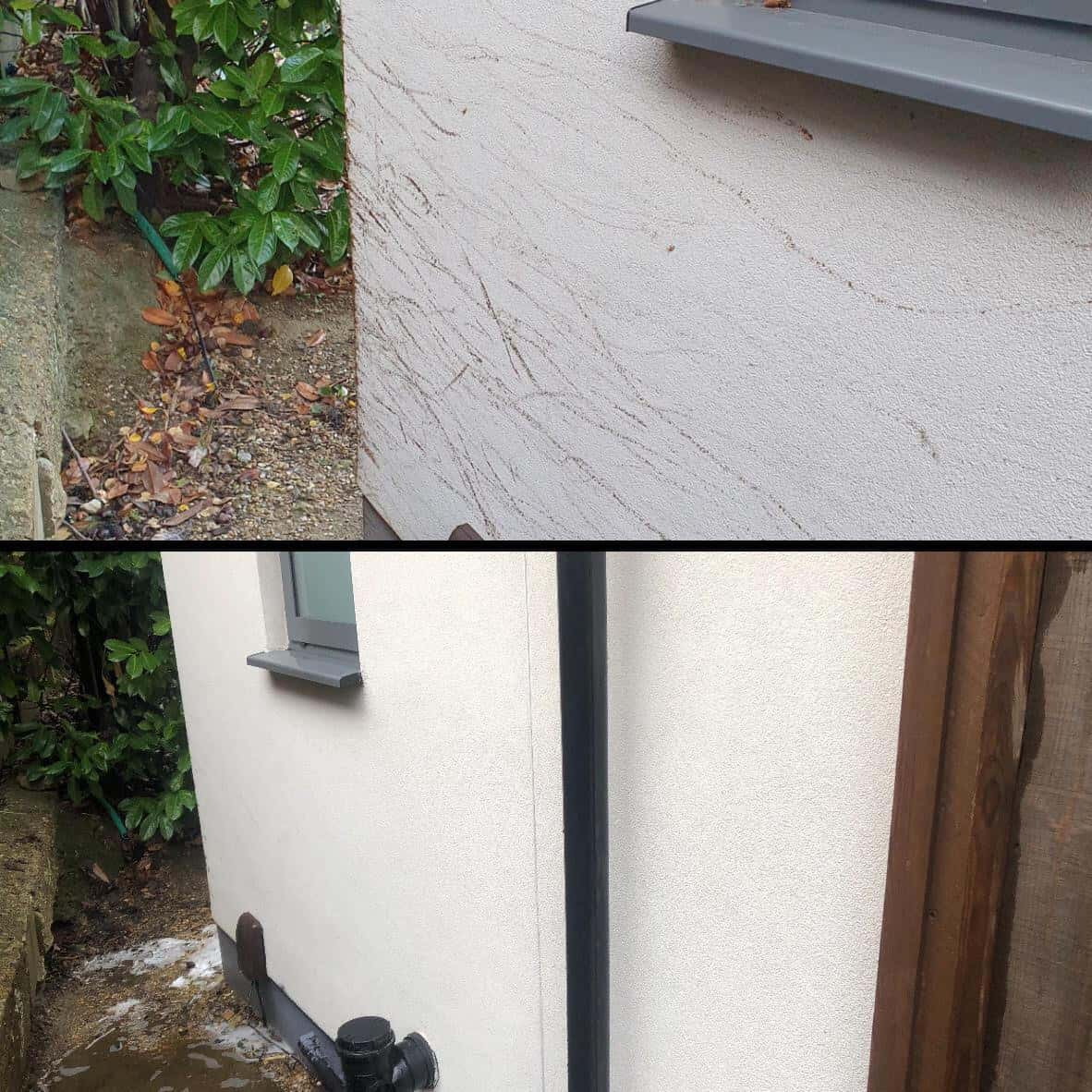 Softwash render cleaning London