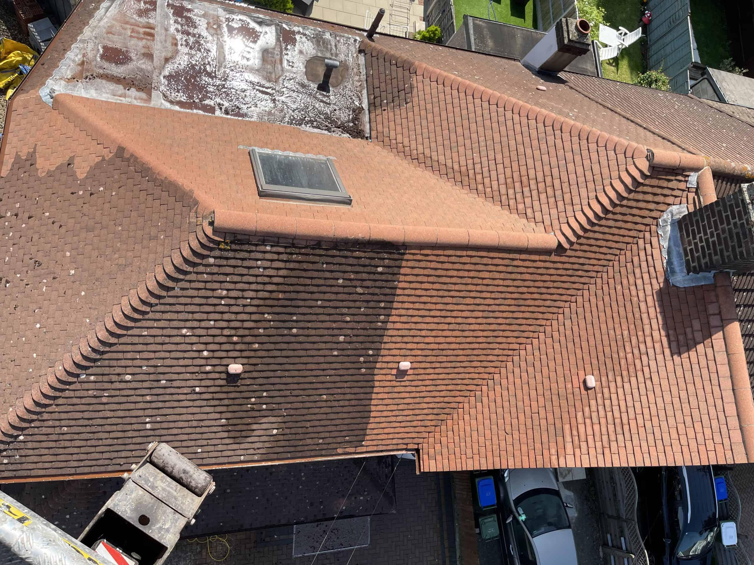 roof cleaning Kent