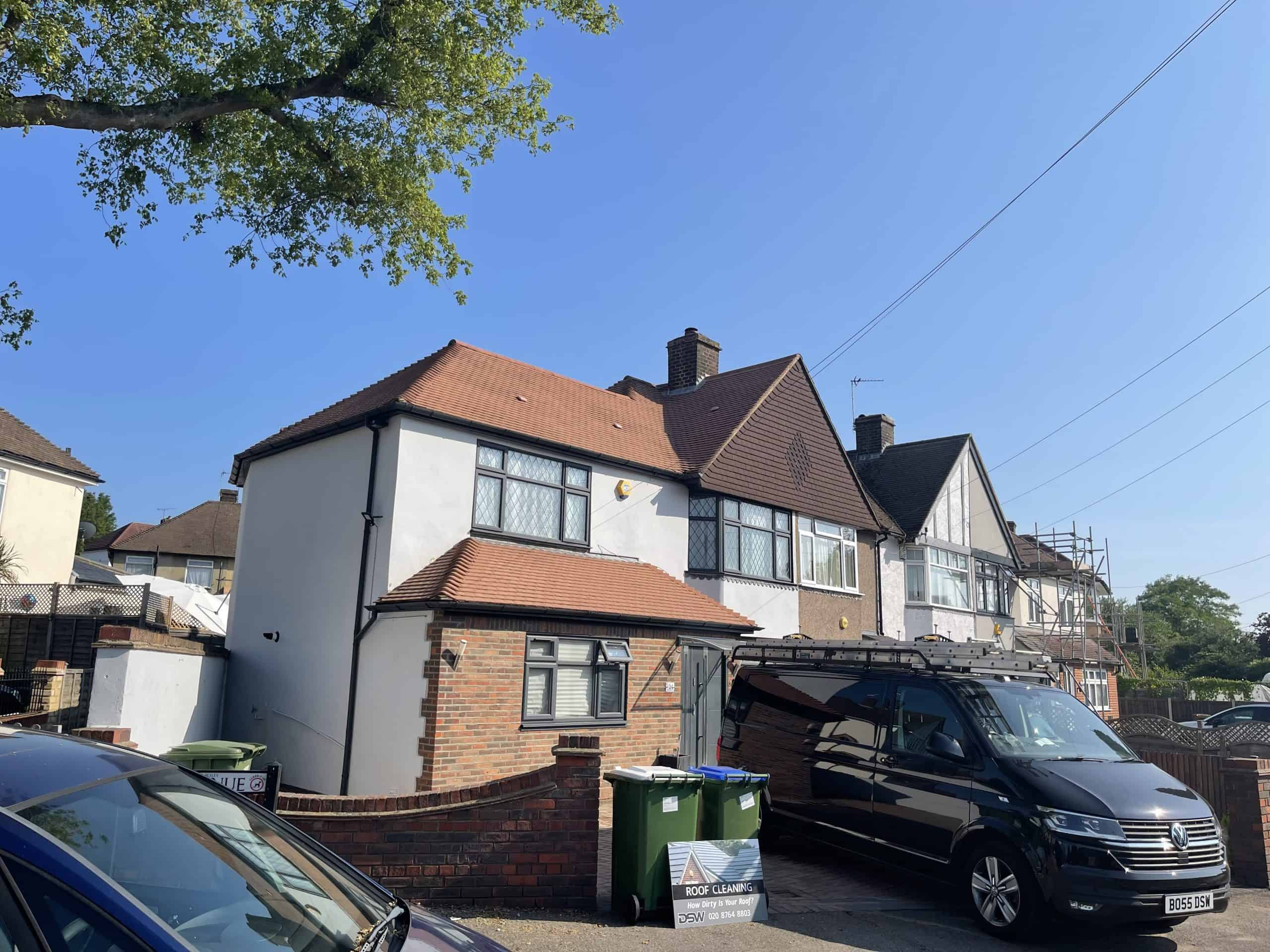 roof cleaning Surrey