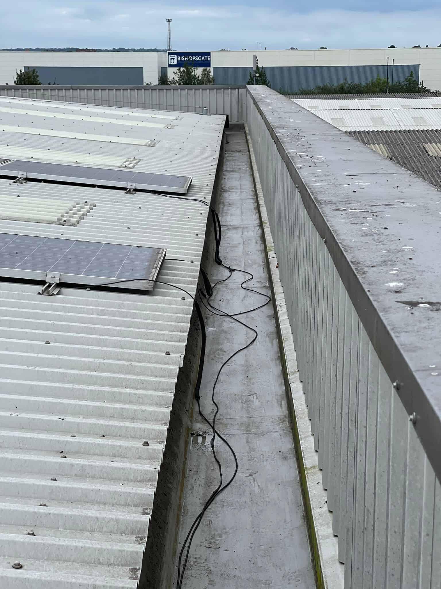 DSW commercial gutter clearing surrey london kent