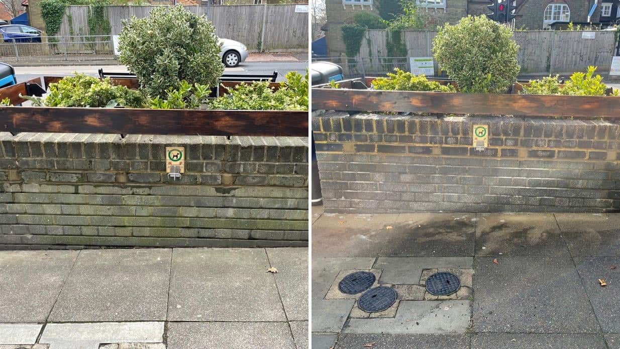 Wall Cleaning Caterham www.dswcleaning.com